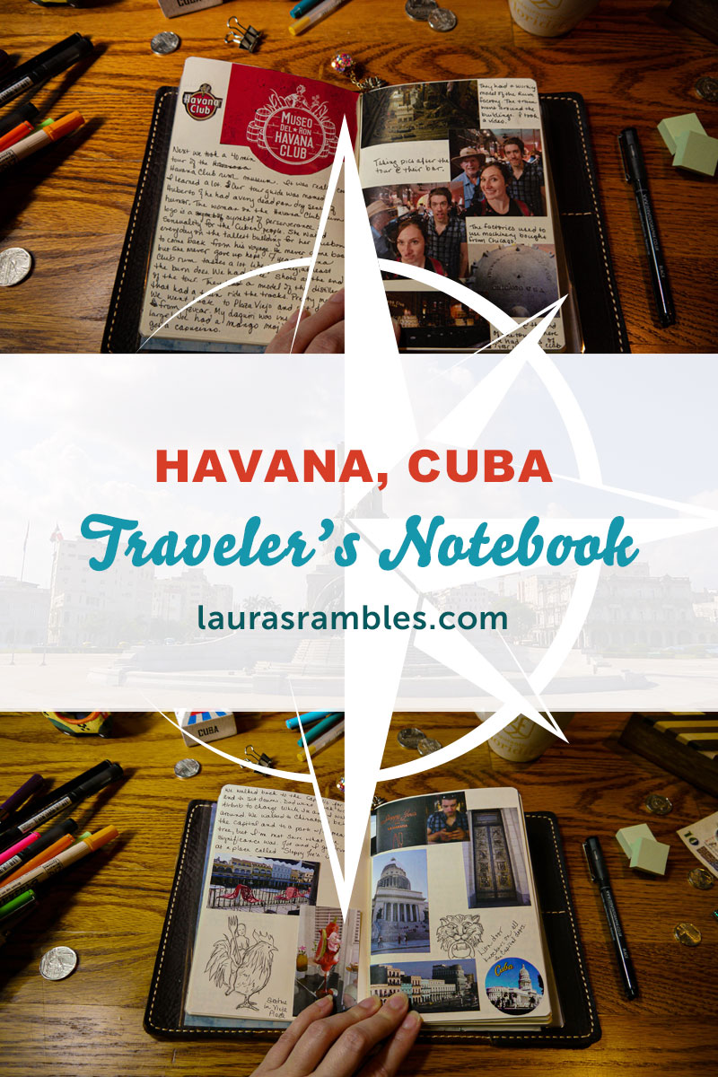 lauras_rambles_Havana_cuba_travelers_notebook_Pinterest