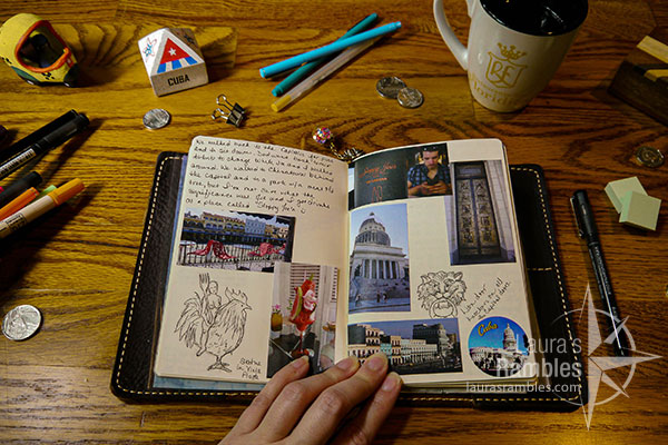 lauras_rambles_Cuba_havana_travelers_notebook_1