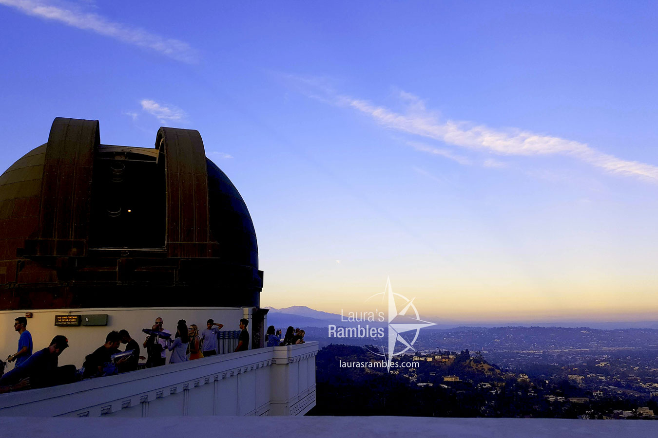 Los Angeles, CA - Griffith Observatory at dusk