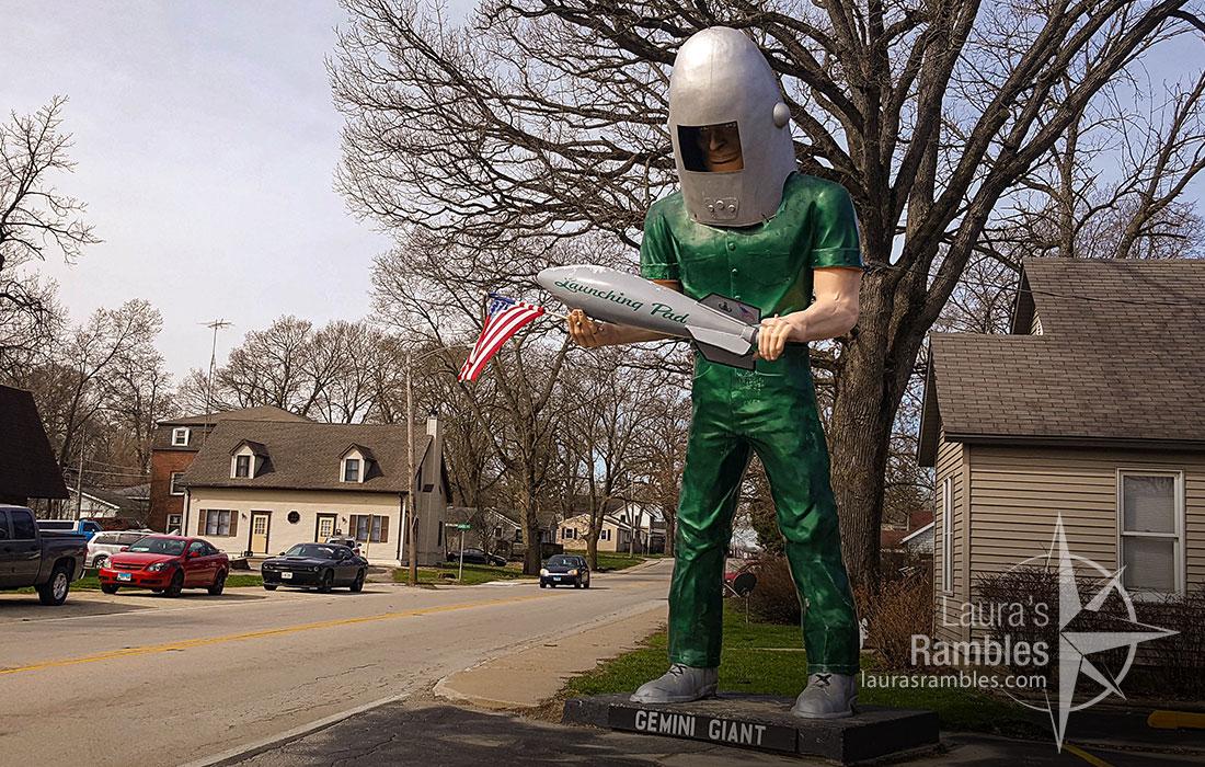 Route 66 Gemini Giant in Wilmington, IL