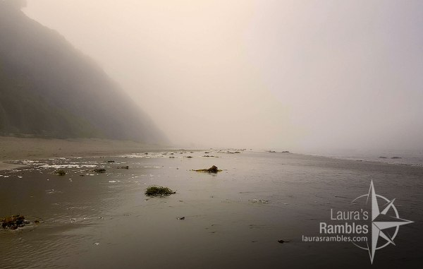 Misty mornings on Hendry's Beach - Arroyo Burro Beach County Park