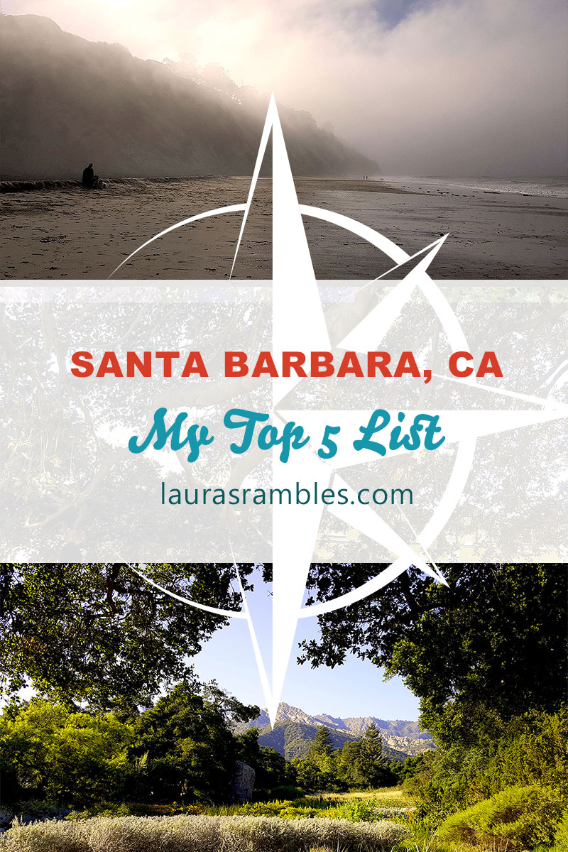 Pinterest Santa Barbara - My Top 5 List
