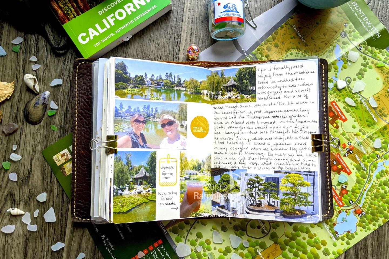 California travel journal - Huntington Library