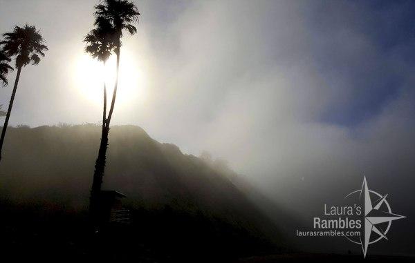 Misty mornings on Arroyo Burro Beach