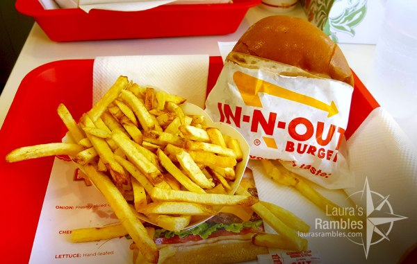 Finally did in fact try the infamous In-N-Out burger