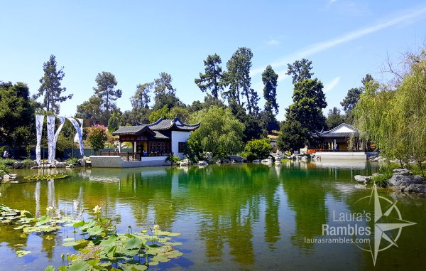 Japanese Garden at The Huntington - I could have hung out in this peaceful garden all day